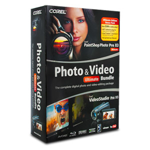 Corel Photo & Video Pro X3 Ultimate Bundle