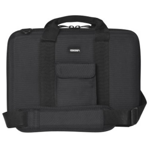 "Cocoon Noho CLB354 Carrying Case for 13"" Notebook - Black, Yellow - Shock Absorbing, Water Resistant - Ethylene Vinyl Acetate (EVA)"