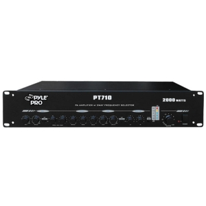 PylePro PT710 Amplifier - 2000 W RMS - 2 Channel - 2000 W PMPO