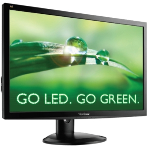 Viewsonic VG2732m-LED 27&quot; LED LCD Monitor - 3 ms - Adjustable Display Angle - 1920 x 1080 - 16.7 Million Colors - 300 Nit - 1,200:1 - Speakers - DVI - VGA - USB - Black - WEEE, RoHS, TCO '05, EPEAT Silver, Energy Star