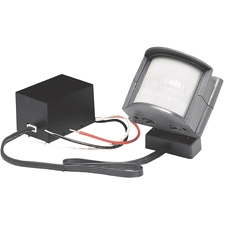 HeathCo SL-5210 Decorative Lighting Control Motion Sensor - 60 ft Operating Range - 110° Viewing Angle - Gray