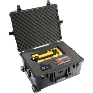 Pelican Black 1610 Hard Case With Padded Dividers