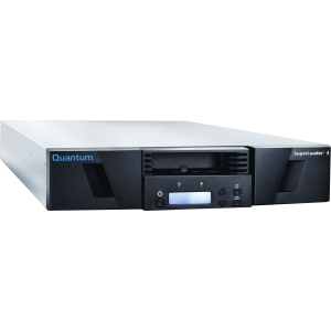 Quantum SuperLoader 3 EC-L2HAE-YF LTO Ultrium 5HH Tape Library - 1 x Drive/16 x Slot - LTO Ultrium 5 - 24 TB (Native) / 48 TB (Compressed) - Serial Attached SCSI (SAS)