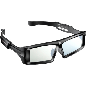 Viewsonic PGD-250 Active Shutter 3D Glasses - For Television - Shutter - 40 ft - LCD - 800:1 - 2 ms - DLP Link - Battery Rechargeable