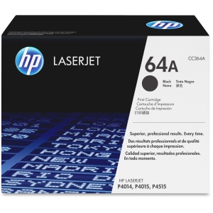 HP 64A Toner Cartridge - Black - Laser - 10000 Page - OEM