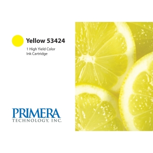 Primera 53424 Ink Cartridge - Yellow - Inkjet