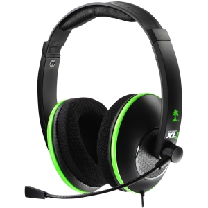 Turtle Beach EarForce XL1 Headset - Stereo - USB, RCA - Wired - 20 Hz - 20 kHz - Over-the-head - Binaural - Ear-cup - 16 ft Cable - Condenser Microphone