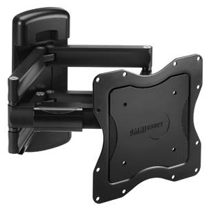 "OmniMount IQMount IQ100C Mounting Arm for Flat Panel Display - 23"" to 42"" Screen Support - 100.00 lb Load Capacity - Aluminum - Black"