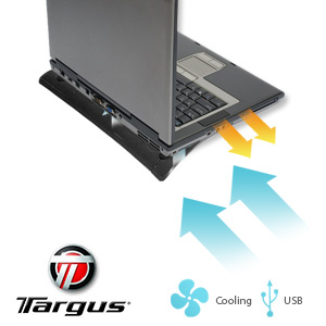 Targus Black Notebook Cooling Chill Mat (AWE1106US)