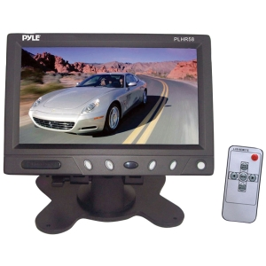 "Pyle PLHR58 5.8"" Active Matrix TFT LCD Car Display - 860 x 480 - Headrest-mountable"