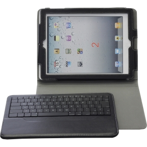 Solidtek Bluetooth Keyboard and Case for Ipad KB-5331B-PF - Handheld, Tablet, Cellular Phone, PC