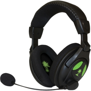 Turtle Beach EarForce X12 Headset - Surround - Mini-phone - Wired - 20 Hz - 20 kHz - Over-the-head - Binaural - Ear-cup - 16 ft Cable