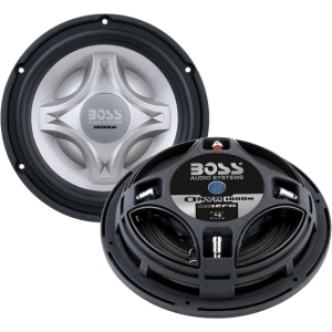 Boss NX12FD Woofer - 900 W RMS - 28 Hz to 2 kHz - 4 Ohm