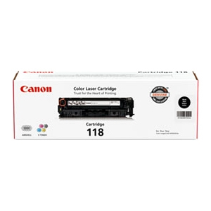 Canon 118 Toner Cartridge - Laser - Black