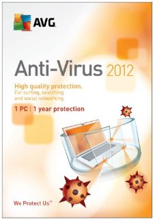 AVG Anti-Virus 2012 - 1 User for 1 Year