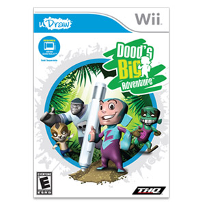 Dood's Big Adventure - Udraw (Nintendo Wii)
