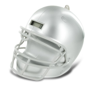 Totes Digital Football Helmet Bank - Colors Vary