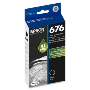 Epson DURABrite Ultra 676XL Ink Cartridge - Black - Inkjet