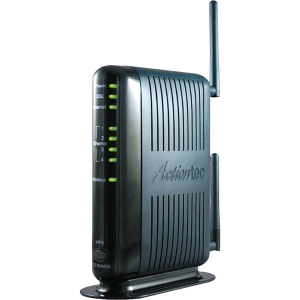 Actiontec GT784WN Wireless Modem/Router - IEEE 802.11n - ISM Band - 54 Mbps Wireless Speed - 4 x Network Port