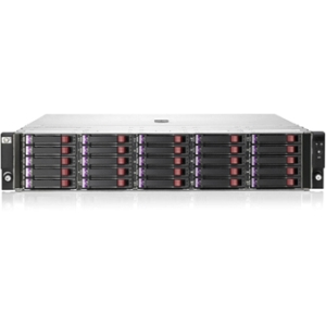 HP D2700 DAS Array - 10 x HDD Installed - 10 TB Installed HDD Capacity - Serial Attached SCSI (SAS) Controller - 25 x Total Bays - 6Gb/s SAS - 2U Rack-mountable