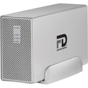 Fantom G-Force MegaDisk MD3U3000 DAS Array - 2 x HDD Installed - 3 TB Installed HDD Capacity - RAID Supported - 2 x Total Bays - USB 3.0