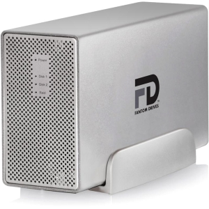 Fantom G-Force MegaDisk MD3U4000 DAS Array - 2 x HDD Installed - 4 TB Installed HDD Capacity - RAID Supported - 2 x Total Bays - USB 3.0