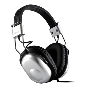 Asus HP-100U Headset - Surround - Silver - Wired - 32 Ohm - 20 Hz - 20 kHz - Over-the-head - Binaural - Ear-cup