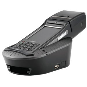Partner Tech Mobile Terminal Cradle with Battry Charging - Wired - Handheld Terminal - Charging Capability - 1 x USB - Serial