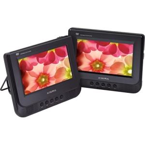 "Audiovox D7121ESK Car DVD Player - 7"" LCD Display - 16:9 - 480 x 234 - Headrest-mountable - DVD Video, Video CD"