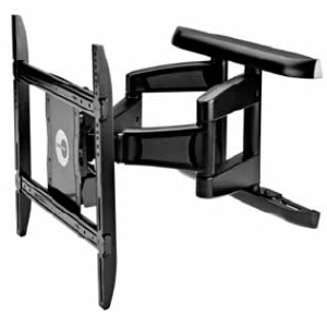 "OmniMount ULPC-X Mounting Arm for Flat Panel Display - 42"" to 75"" Screen Support - 250.00 lb Load Capacity - Steel - Black"