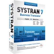 Systran v.7.0 Business Translator English-World Language Pack - Complete Product - 1 User - Educational - Standard Retail - DVD-ROM - PC