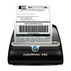 Dymo LabelWriter 4XL Direct Thermal Printer - Monochrome - Desktop - Label Print - 3.20 in/s Mono - 300 dpi - Ethernet - USB