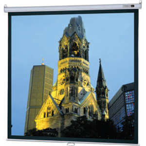 "Da-Lite 36453 Manual Projection Screen - 50"" x 80"" - Matte White - 94"" Diagonal - 16:10 - Ceiling Mount, Floor Mount"