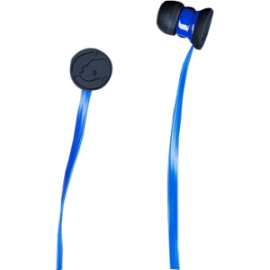Ecko Unltd. Stomp Ear Bud - Stereo - Blue - Mini-phone - Wired - Earbud - Binaural - Open - 3.94 ft Cable