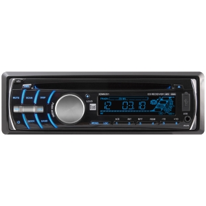 Dual XDM6351 Car CD/MP3 Player - 72 W RMS - Single DIN - LCD Display - CD-RW - CD-DA, MP3, WMA, AAC - AM, FM - 18, 12 x FM, AM Preset - Secure Digital (SD) Card - USB - Auxiliary Input - Detachable Front Panel