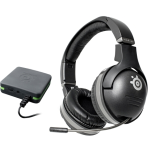 SteelSeries SPECTRUM 7xB Headset - Stereo - Black - Wireless - RF - 29.5 ft - 32 Ohm - 18 Hz - 28 kHz - Over-the-head - Binaural - Ear-cup