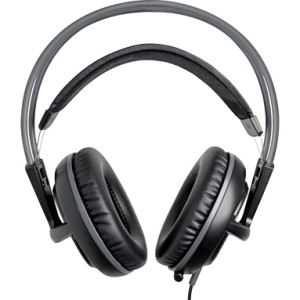 SteelSeries Siberia v2 Headset - Stereo - Black - Mini-phone - Wired - 32 Ohm - 18 Hz - 28 kHz - Over-the-head - Binaural - Ear-cup - 3.28 ft Cable