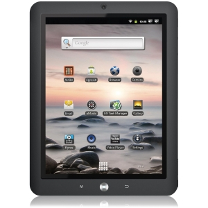 "Coby Kyros MID8125-4G 8"" 4 GB Tablet Computer - Wi-Fi - ARM Cortex A8 1 GHz - Silver - 512 MB RAM - Webcam - Android 2.3"