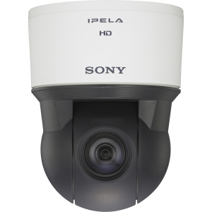 Sony IPELA SNC-ER580 Surveillance/Network Camera - Color, Monochrome - 20x Optical - CMOS - Cable - Fast Ethernet