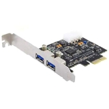 Targus 2-port PCI Express USB Adapter - 2 x Female USB 3.0 USB - Plug-in Card