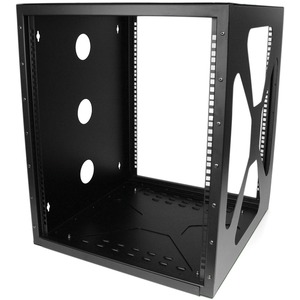 StarTech.com 12U 19in Wall Mount Side Mount Open Frame Rack Cabinet - 19 12U Wall Mounted