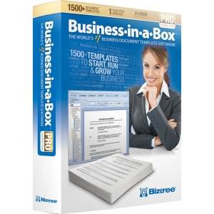 Biztree Business-in-a-Box 2011 Pro for PC or Mac (3-User Edition)