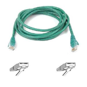 Belkin Cat5e Patch Cable - RJ-45 Male - RJ-45 Male - 8ft - Green