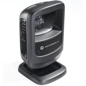 Motorola DS9208 Desktop Bar Code Reader - Black - Wired - Imager - LED