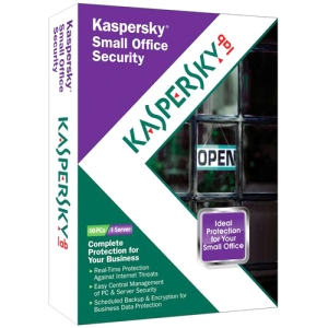 Kaspersky Small Office Security - Subscription Package - 1 File Server, 10 PC - Standard - 1 Year - PC - Retail - CD-ROM - English