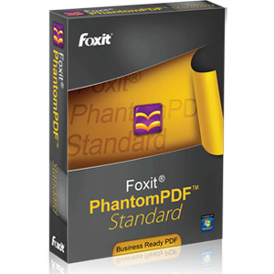 Foxit PhantomPDF Standard - PDF Conversion/Viewing for PC