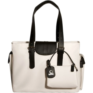 "WIB Liberator WIB-LIBDL5 Carrying Case (Tote) for 16.1"" Notebook - Black, White - MicroFiber"