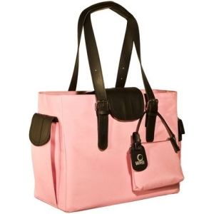 "WIB Liberator WIB-LIBDL6 Carrying Case (Tote) for 16.1"" Notebook - Pink, Black - MicroFiber"