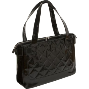 "WIB Vanity WIB-VAN1 Carrying Case (Tote) for 16.1"" Notebook - Black - Polyurethane"