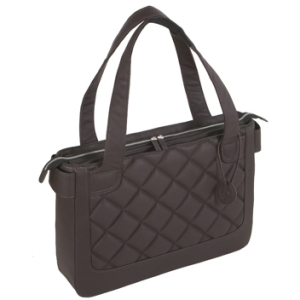 "WIB Vanity WIB-VAN3 Carrying Case (Tote) for 16.1"" Notebook - Espresso - Polyurethane"